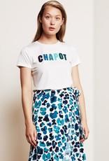Fabienne Chapot Terry Tess T-Shirt Cream White