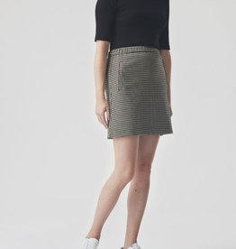 Modstrom Fawn Short Check Skirt Houndstooth