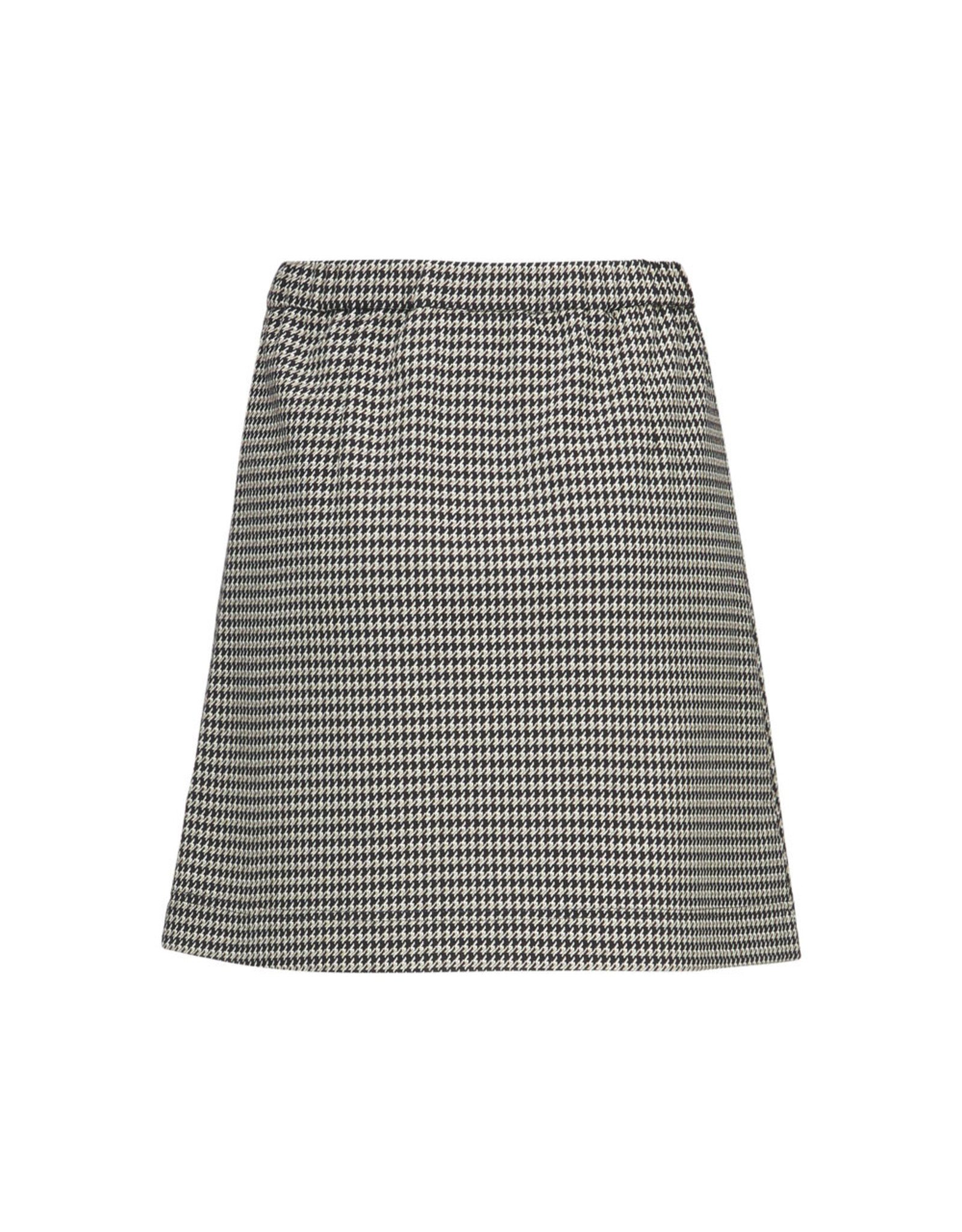 Modstrom Fawn Short Check Skirt Houndstooth