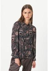Second Female Geo Shirt Caviar