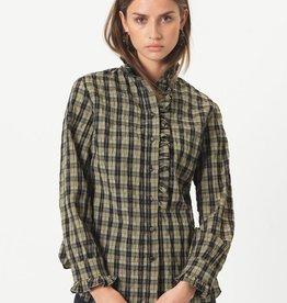 Second Female Osla Shirt Deep Lichen Green