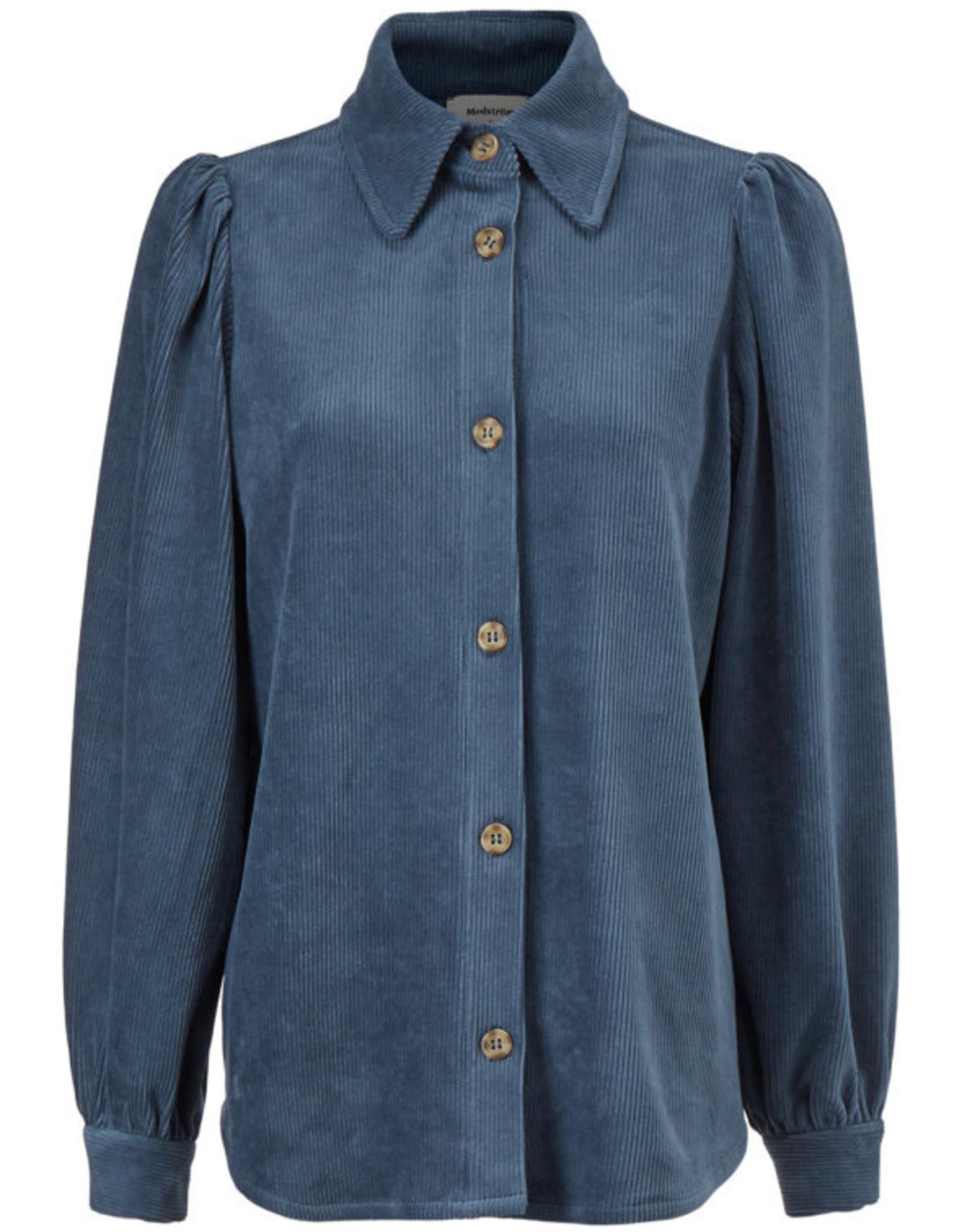 Modstrom Freya Shirt Vintage Blue