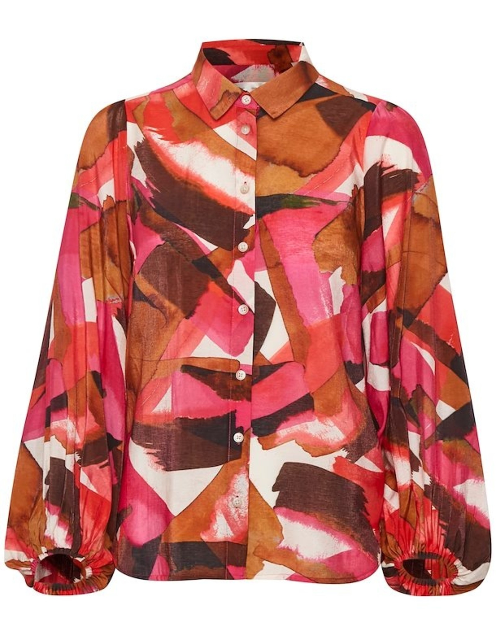 InWear Poppy Shirt Pink Watercolour