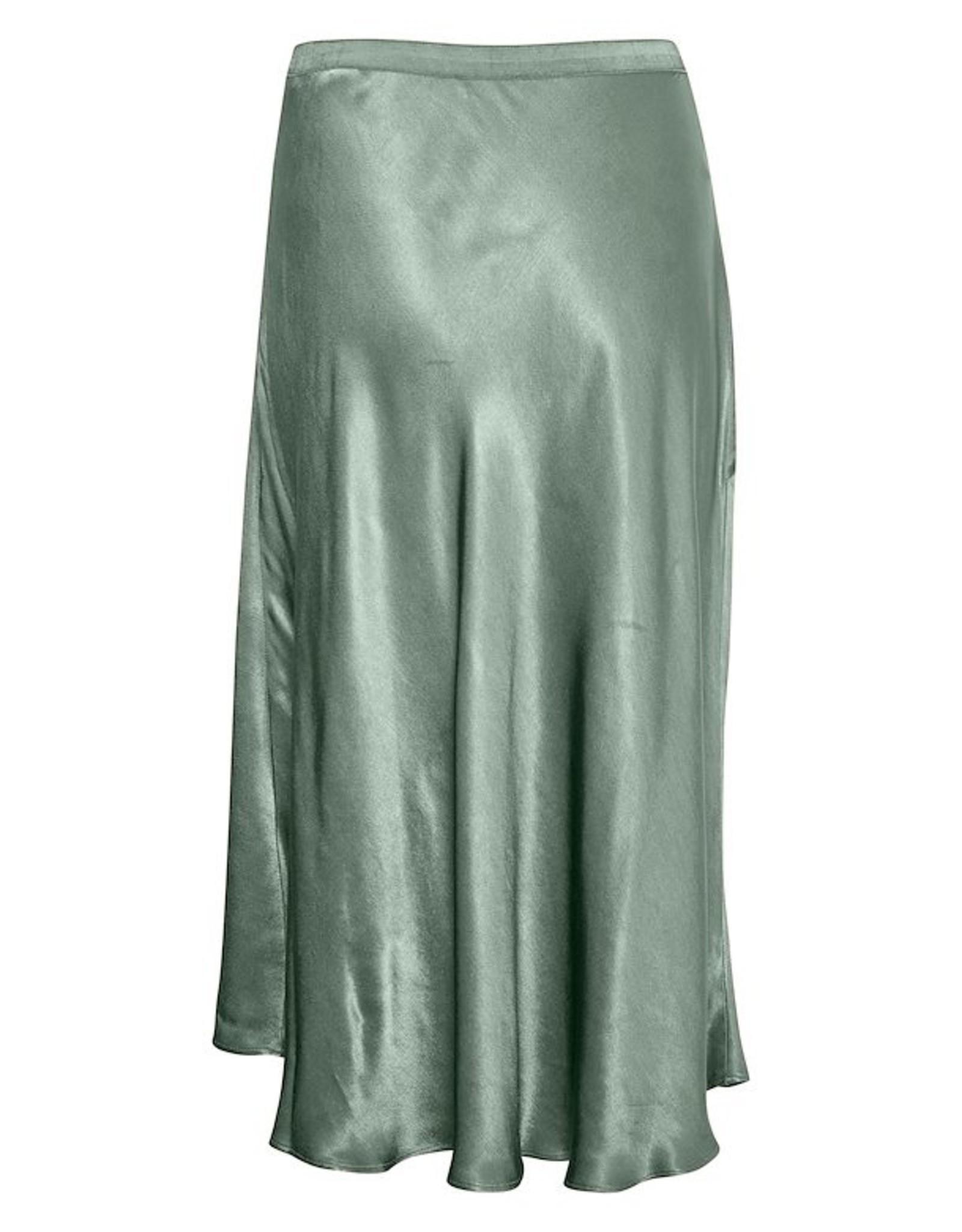 Soaked in Luxury Nanuli Skirt Hedge Green