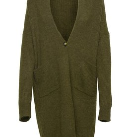 Soaked in Luxury Tuesday Amaya Cardigan Military Olive