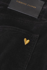 Fabienne Chapot Eva Corduroy Flare Trouser Black