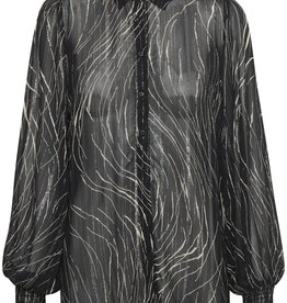 InWear Petrina Shirt Black Strokes