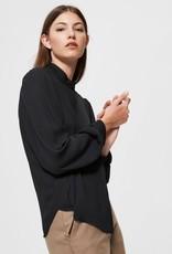 Selected Femme Amaya Shirt Black