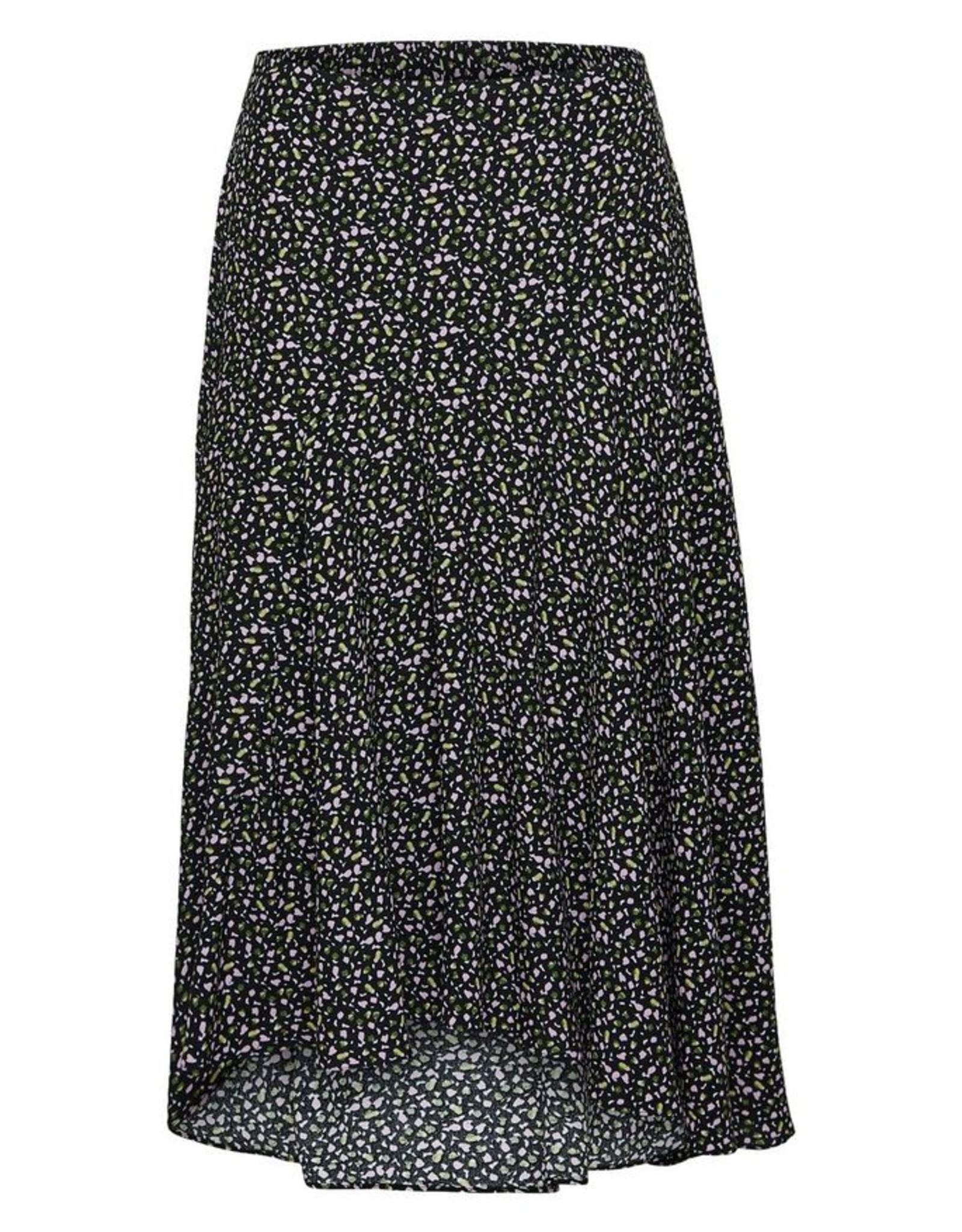 Selected Femme Riyanka Midi Skirt Black