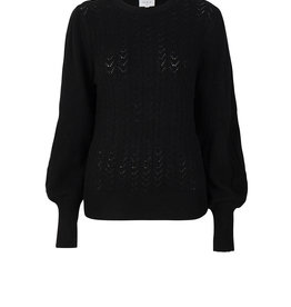 Dante 6 Kinsley Knitted Cable Sweater Raven