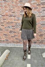 Second Female Della Short Skirt Caviar