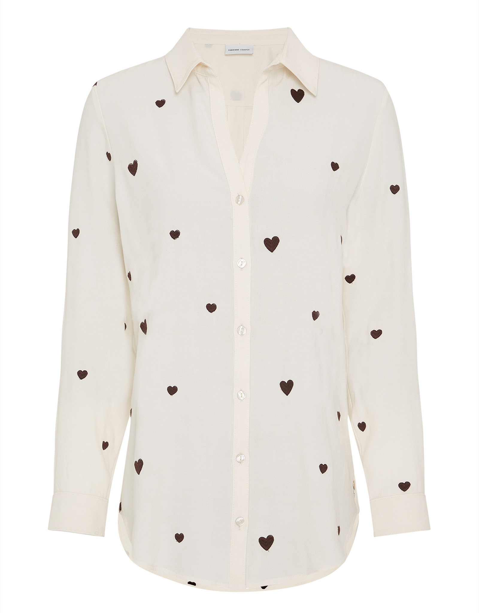 Fabienne Chapot Lily Embro Blouse Cream White