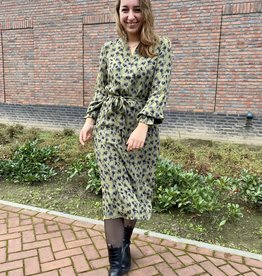 Minimum Chalotthea Dress Dark Olive