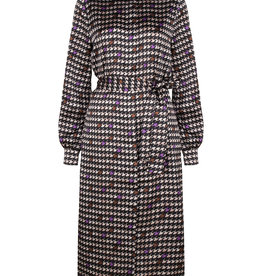 Dante 6 Cherokee Print Dress Black White