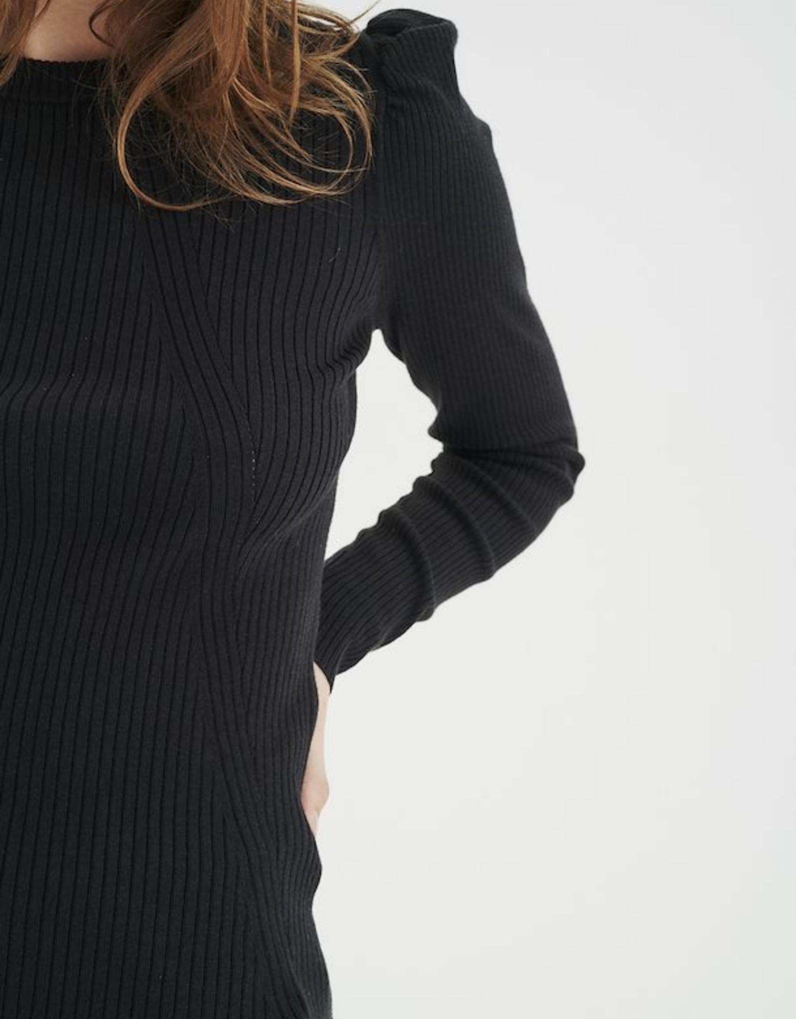 InWear Yuno Puff Sleeve Black