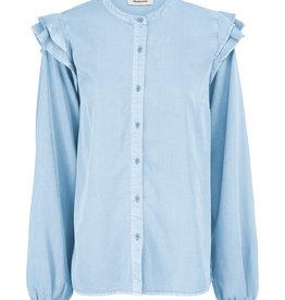 Modstrom Henry Shirt Chambray Blue