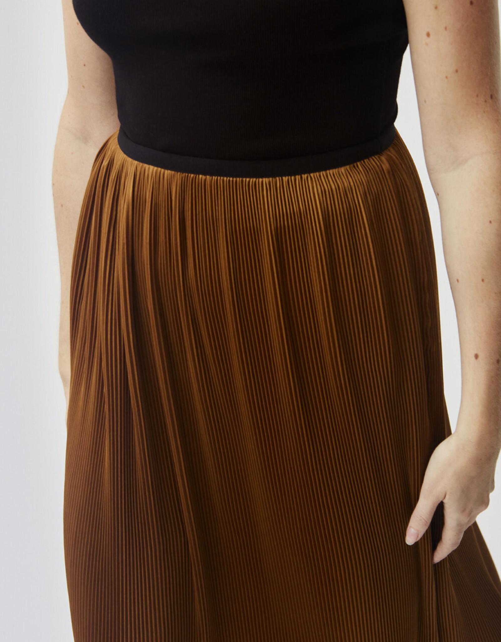Modstrom Helin Skirt Brown Oak