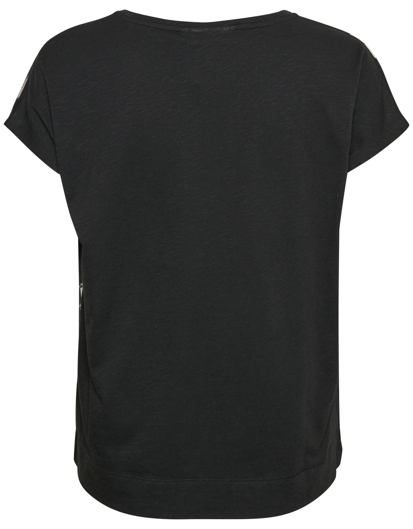 InWear Sicily Tshirt Black Painted Bloom