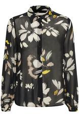 InWear Florizza Shirt Black Painted Bloom