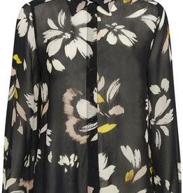 InWear Florizza Shirt Black Painted Bloom