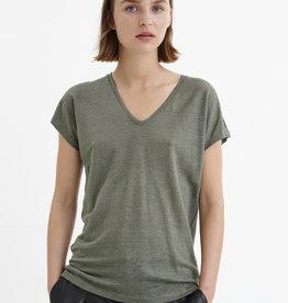 InWear Faylinn V T-Shirt Beetle Green