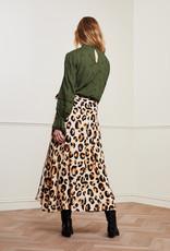 Fabienne Chapot Bobo Skirt Oatmeal Chocolate Brown