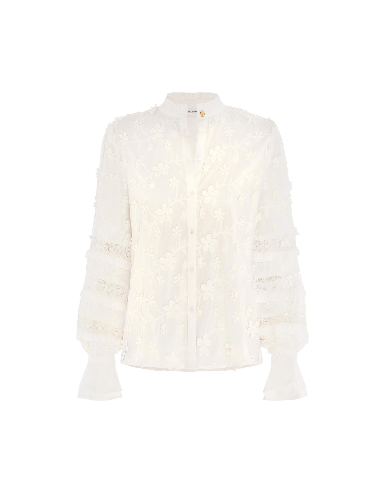 Fabienne Chapot Leo Blouse Cream White