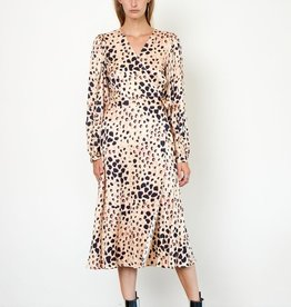 Second Female Amur Wrap Dress Cement