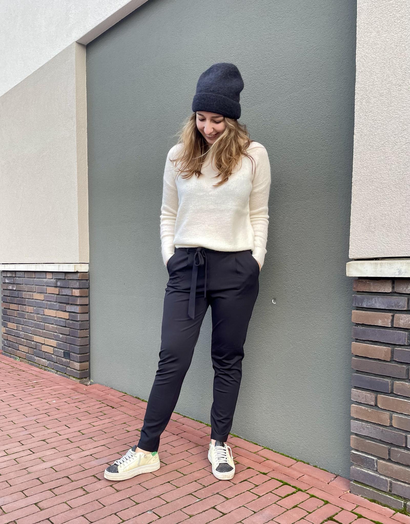 Moss Copenhagen Femme Mohair O Pullover Vanilla Ice