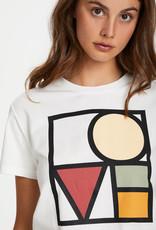 Soaked in Luxury Bo T-Shirt Broken White