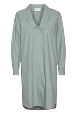 Gestuz Jilan Shirt Dress Slate Grey