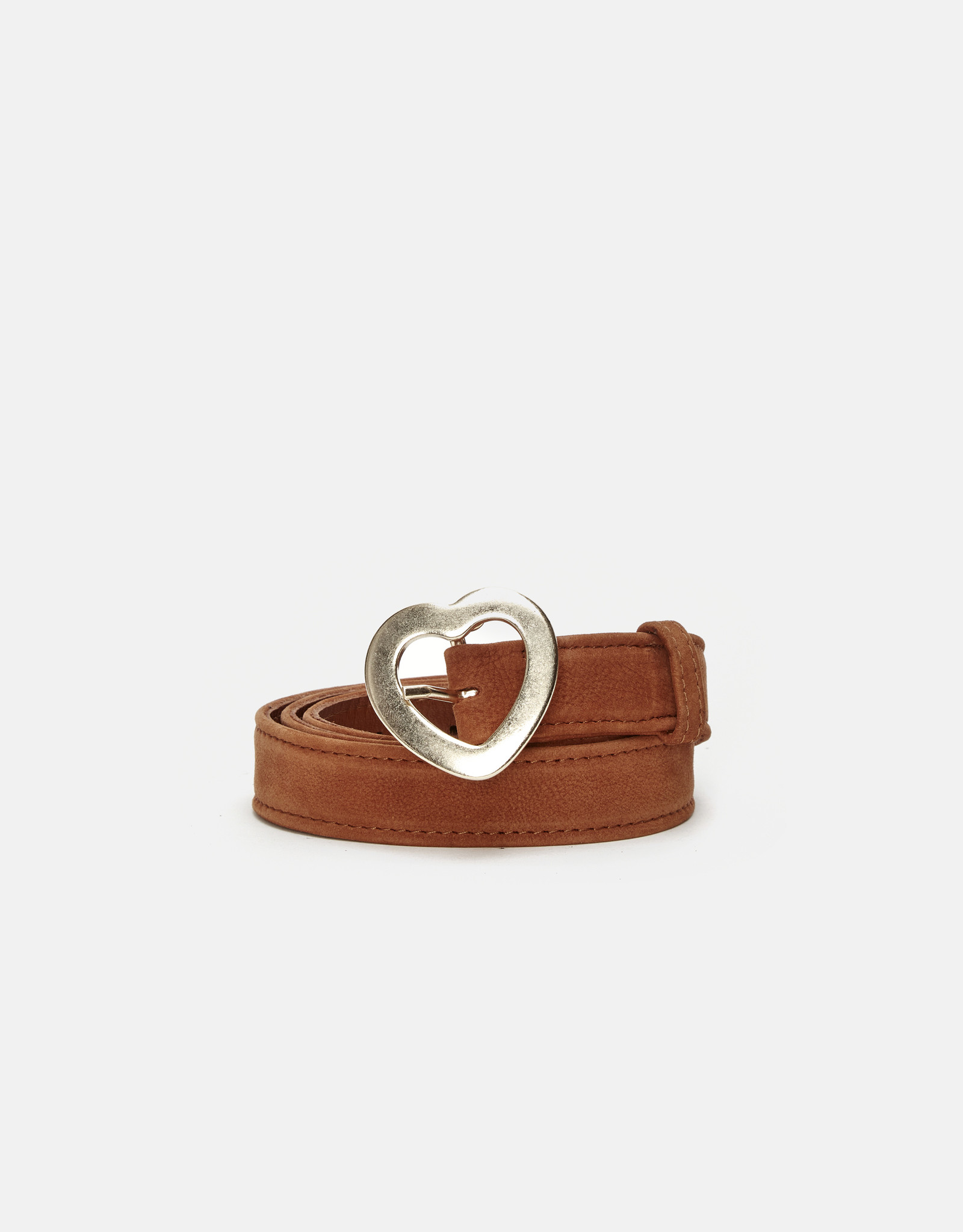 Fabienne Chapot Michelle Heart Belt Cognac