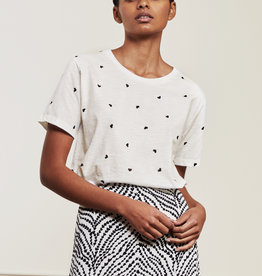 Fabienne Chapot Phil Heart T-Shirt Cream White