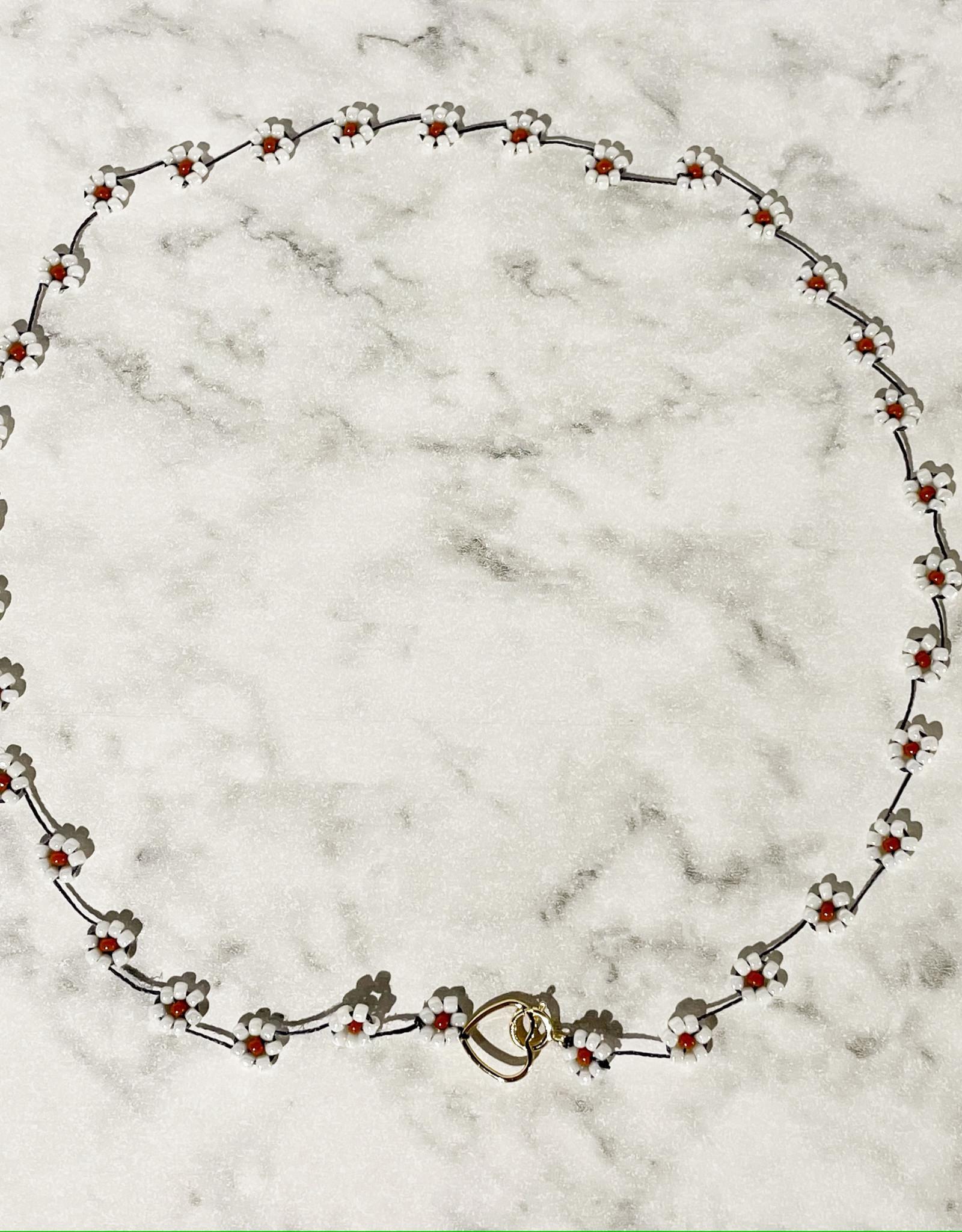 Atelier Labro Fiori Necklace White
