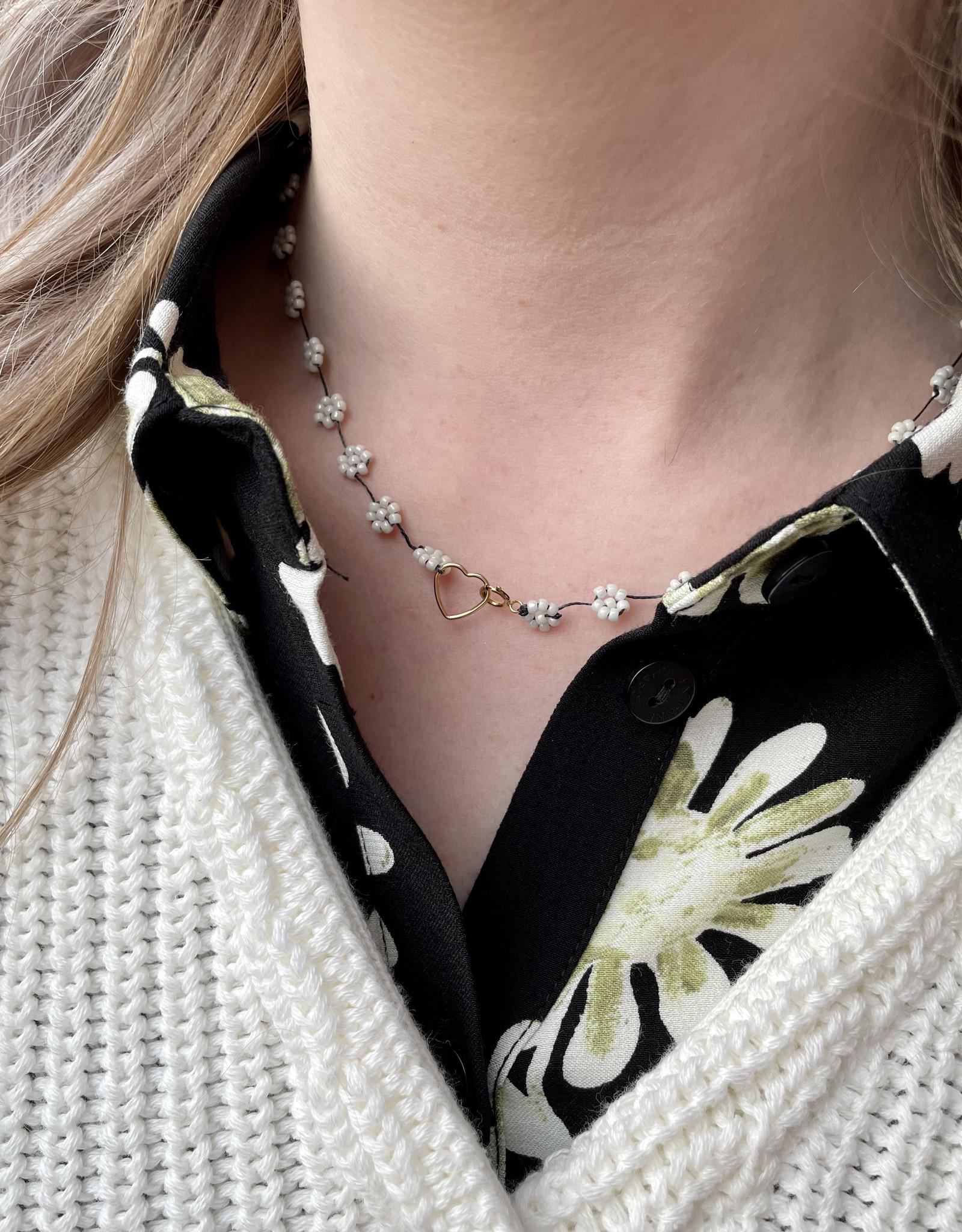 Atelier Labro Fiori Necklace All White