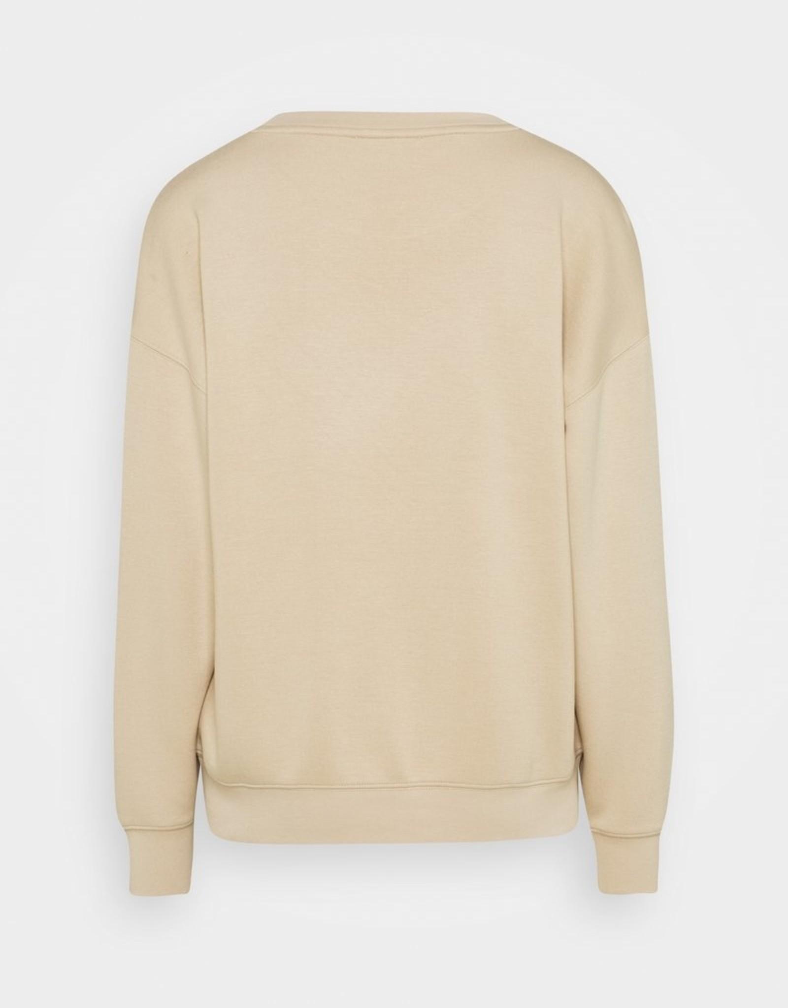 Moss Copenhagen Ima Sweatshirt White Pepper