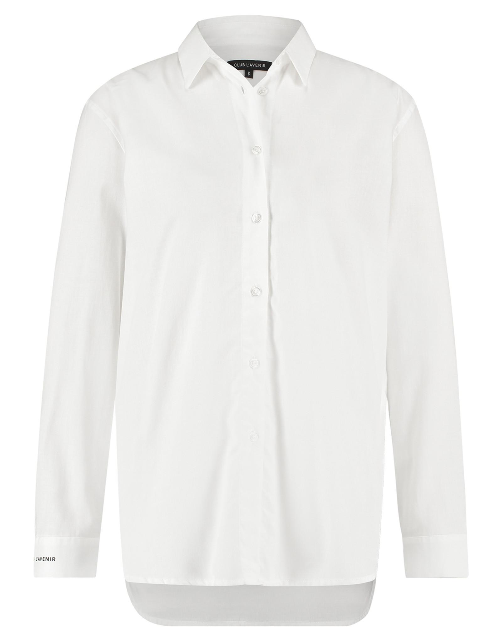 Club l'Avenir Boyish Rive Blouse White