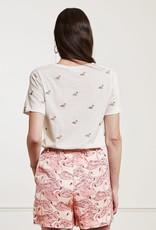 Fabienne Chapot Phil Swan T-Shirt Cream White