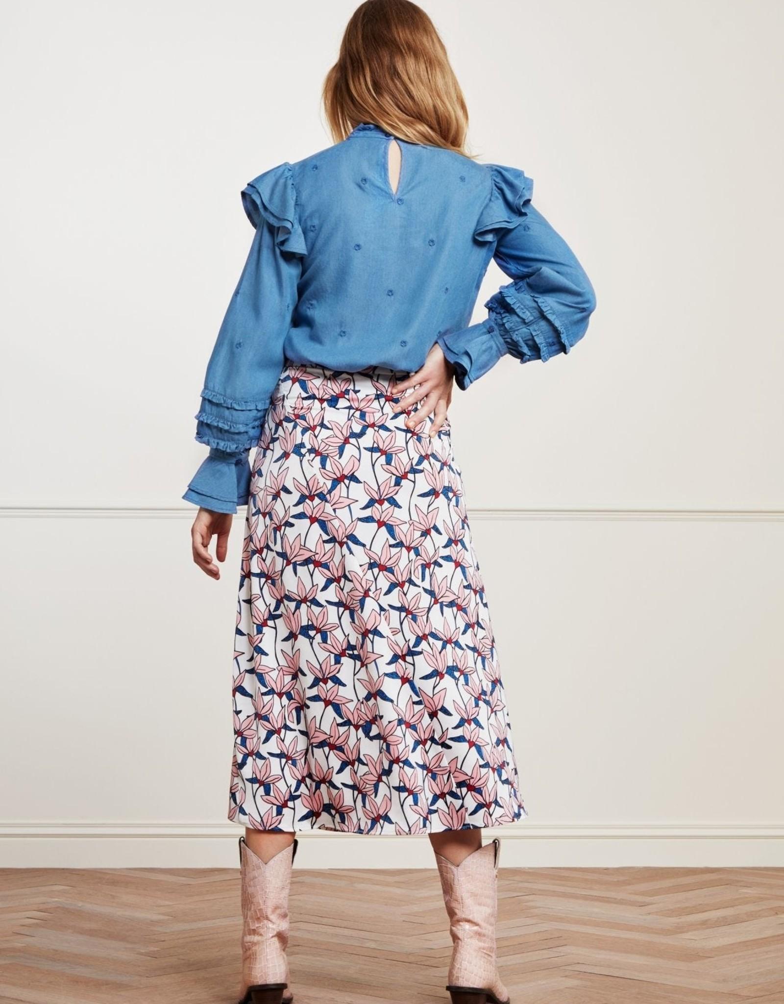 Fabienne Chapot Claire Skirt Lotus Flower