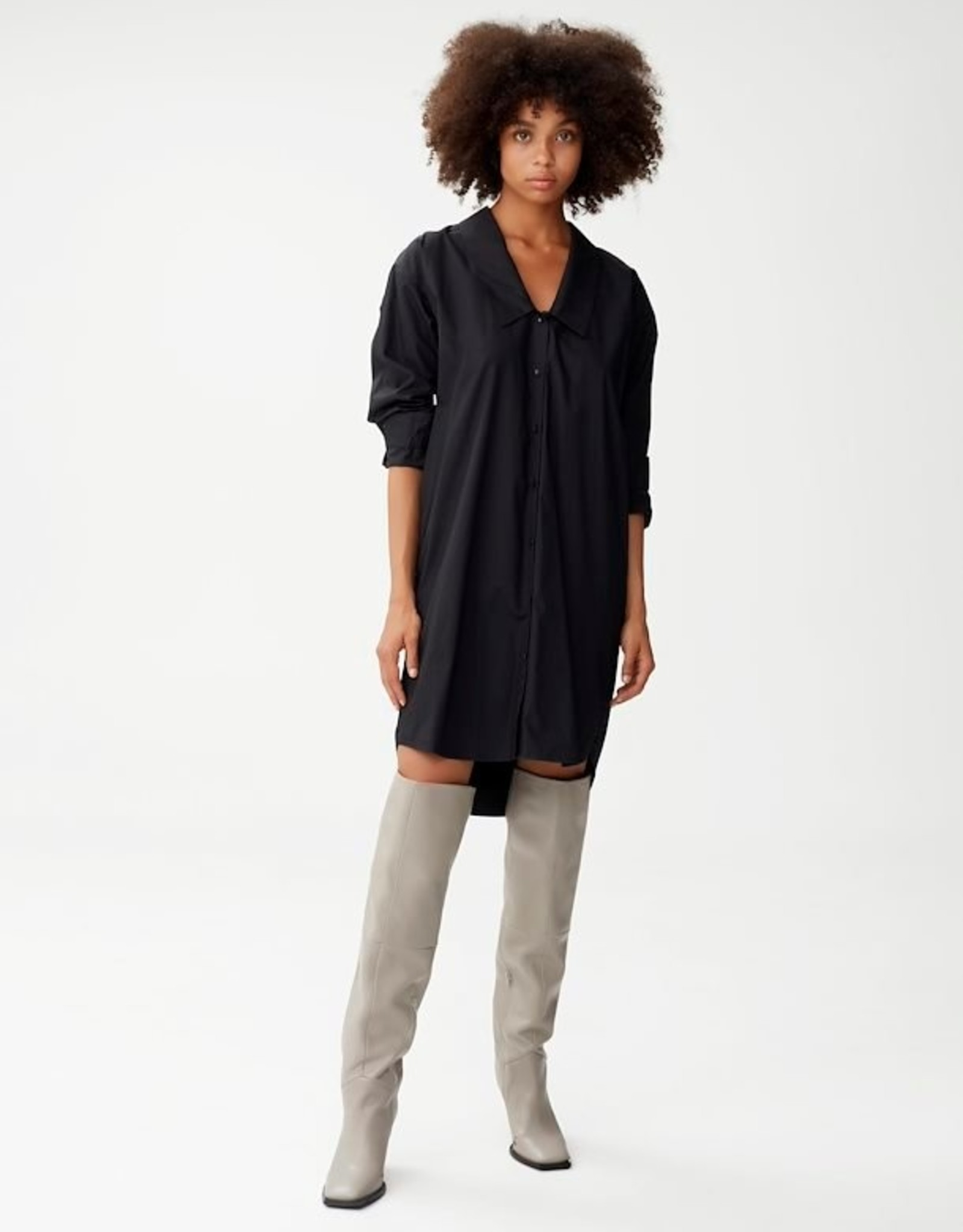 Gestuz Jilan Shirt Dress Black