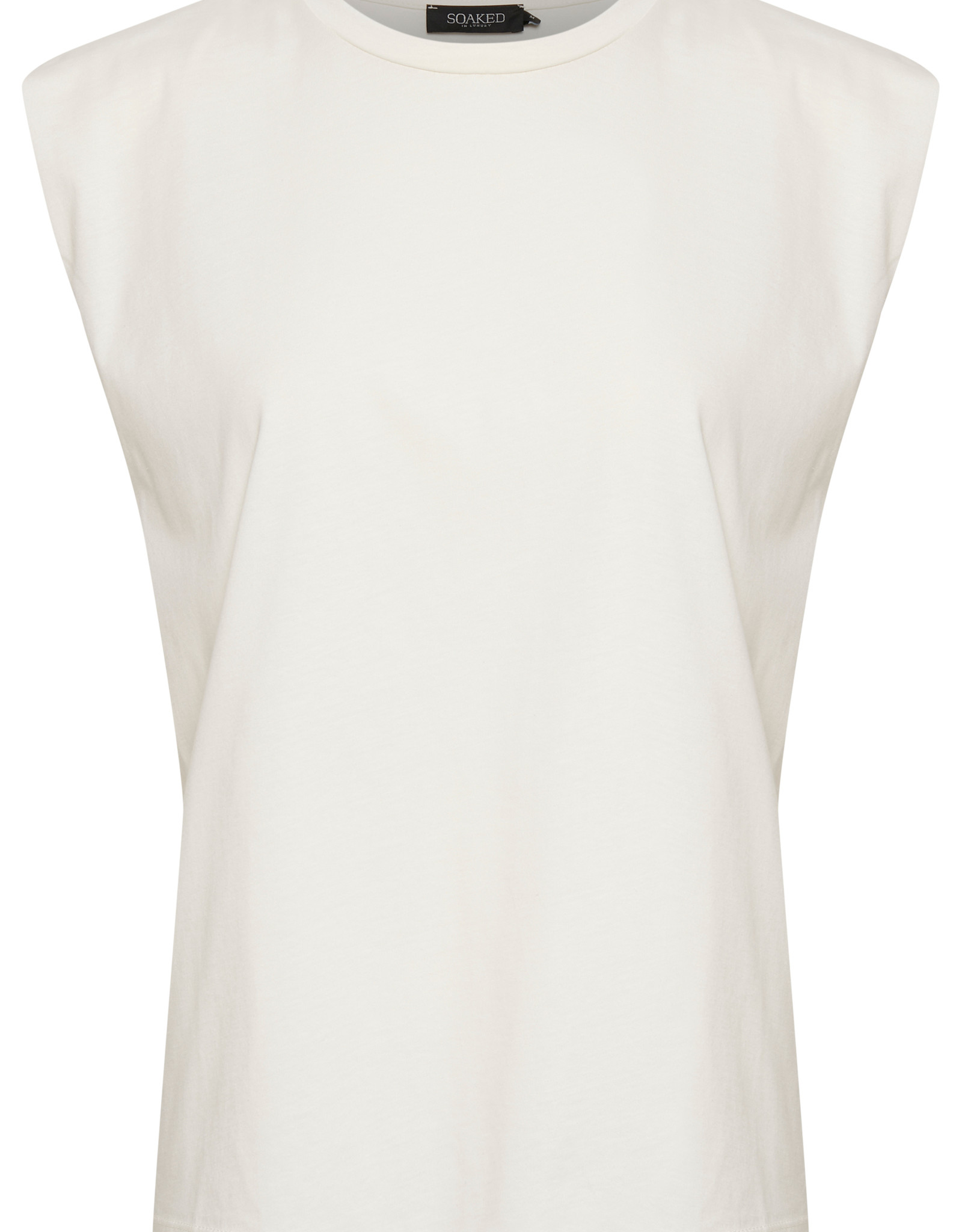 Soaked in Luxury Eryka Padded T-Shirt Whisper White