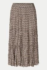 Second Female Frank Midi Skirt Black