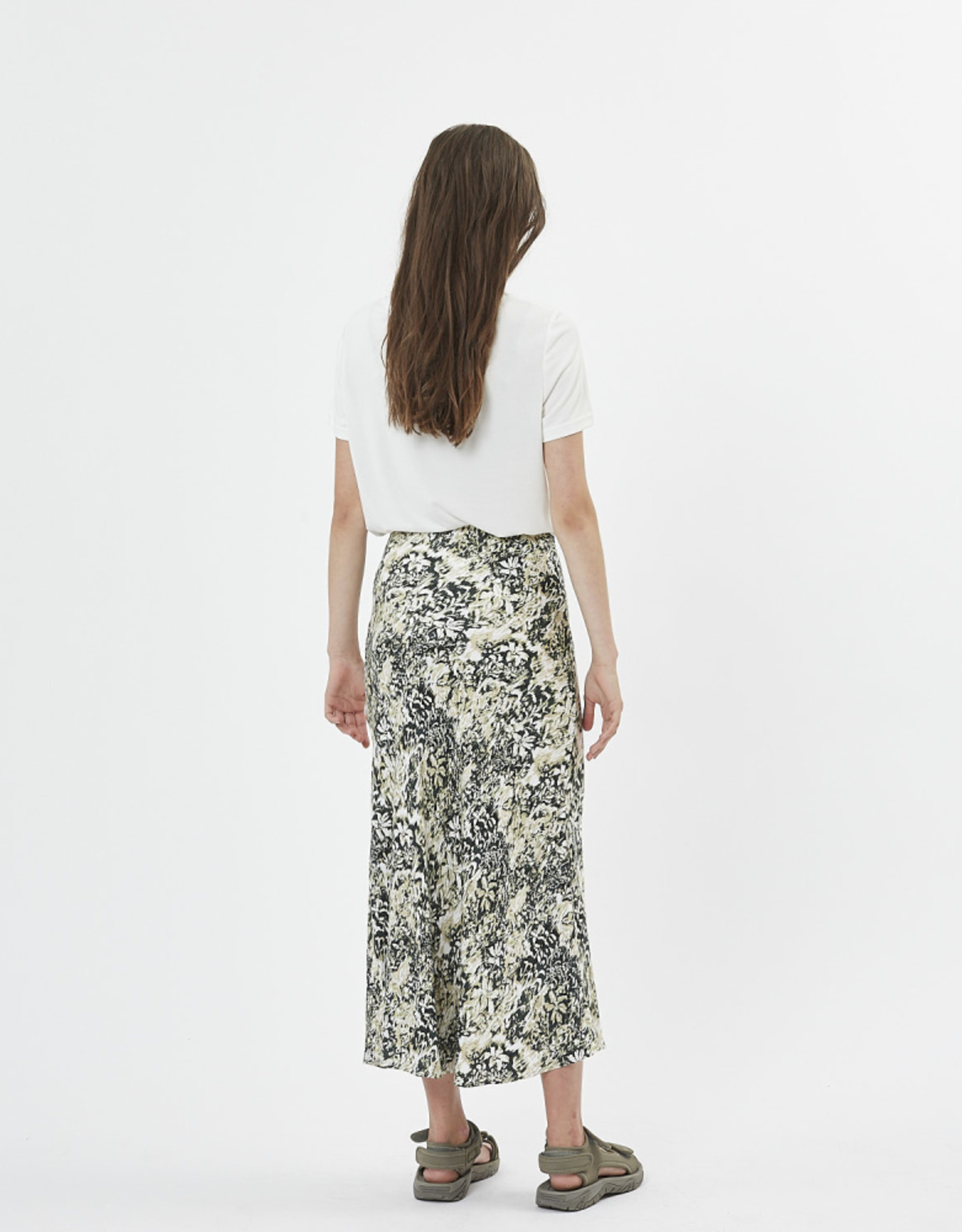 Minimum Albi Skirt Deep Forest