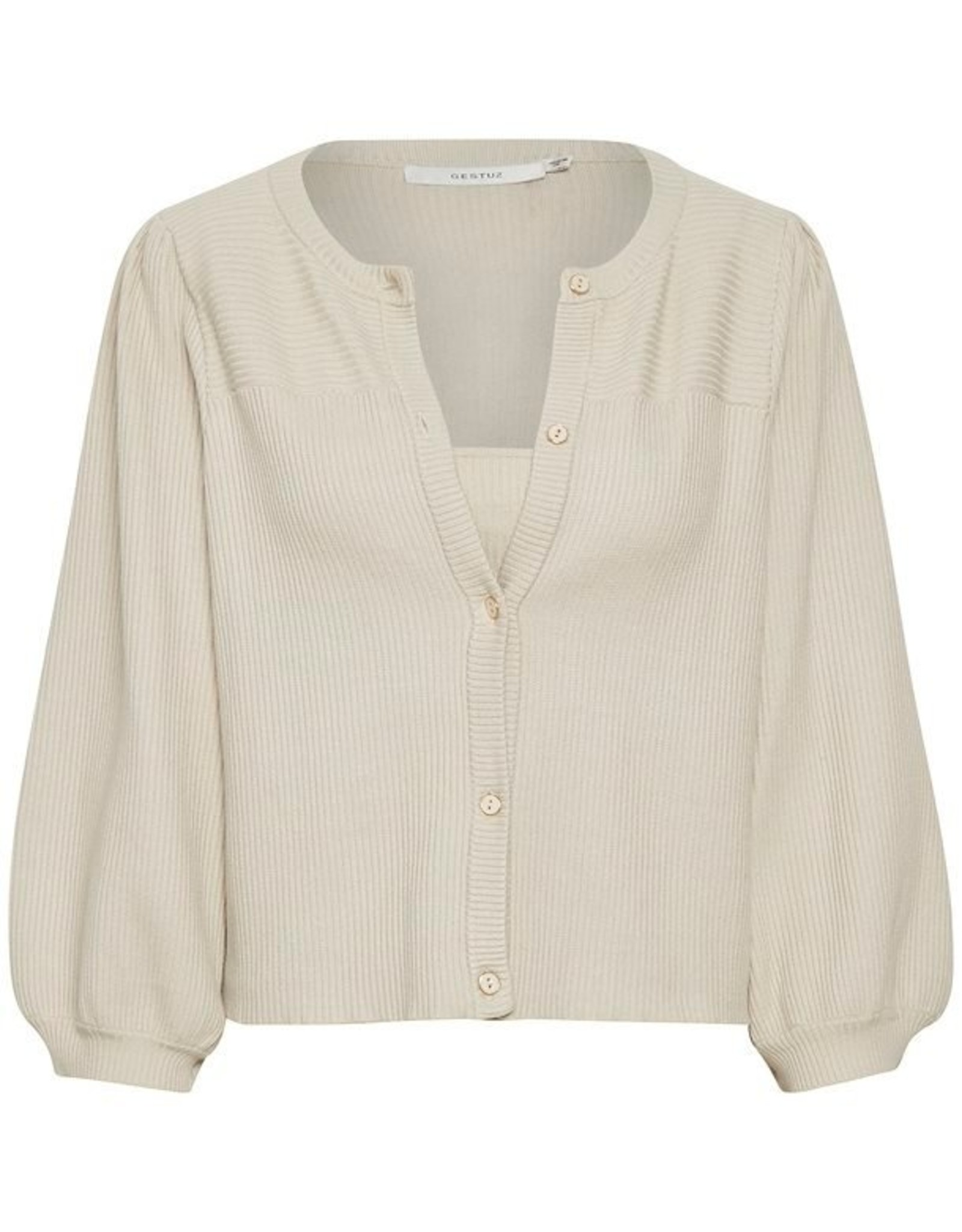 Gestuz Ragna Duo Cardigan Moonbeam