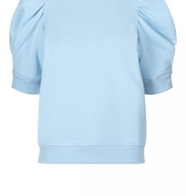 Second Female Miami Sweat Tee Pale Sky Blue