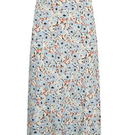 Soaked in Luxury Ide Skirt Blue Peonia Print