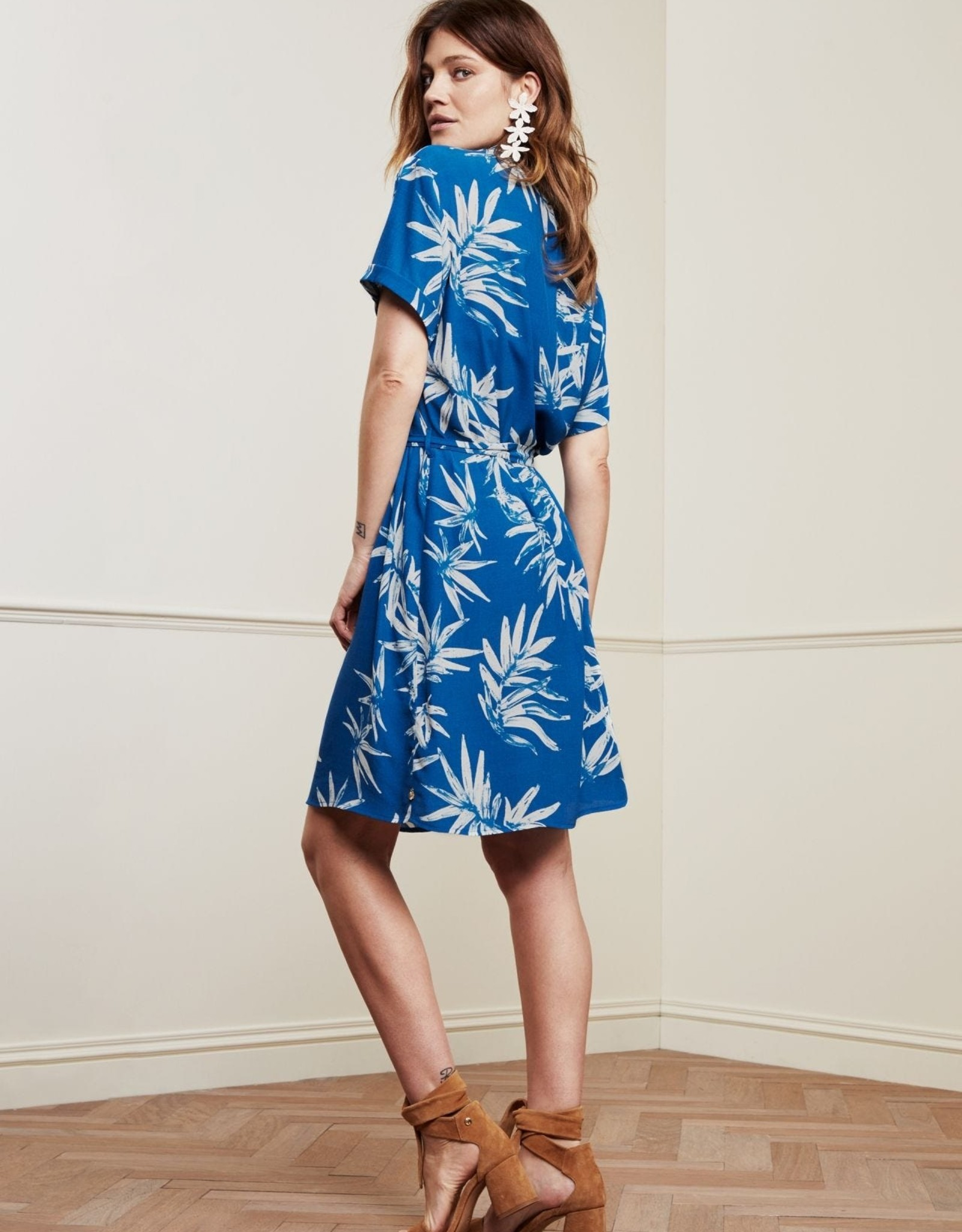 Fabienne Chapot Boyfriend Dress Palm Spring Break