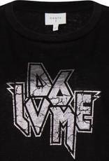 Dante 6 Rock Print Tee Raven