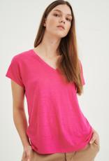 InWear Faylinn V T-Shirt Rashberry Pink