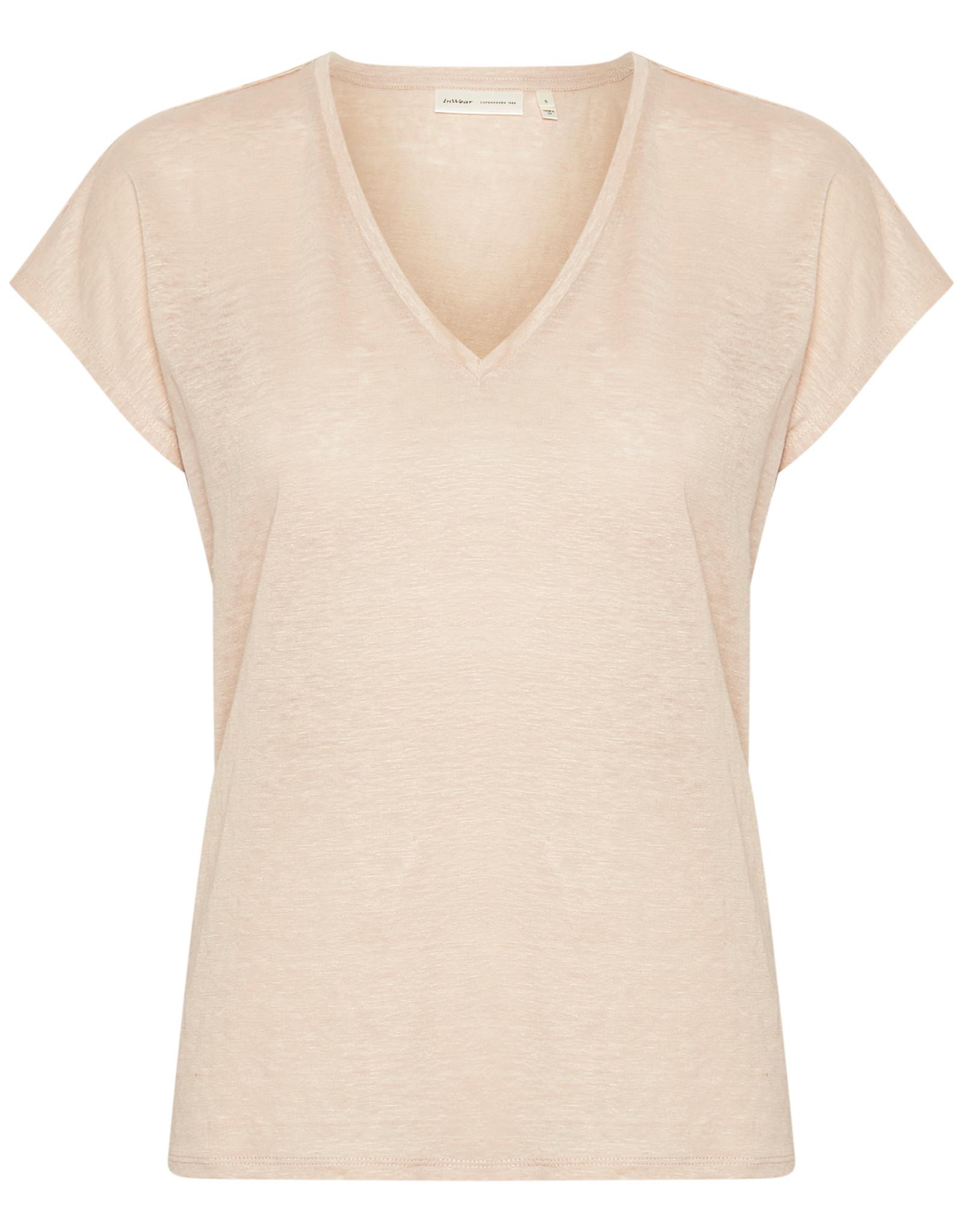 InWear Faylinn V T-Shirt Sandstone